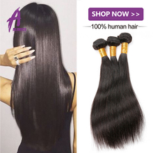 100% Unprocessed Human Hair Best Quality Brazilian Straight Hair Weaving