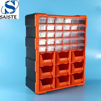 Factory direct price 39 drawers multifunctional high quality plastic parts storage tool box