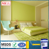 Indoor house emulsion latex interior waterborne wall paint