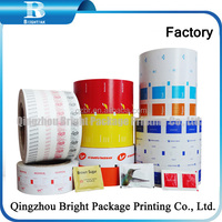 pe coated paper pack sugar in sachets paper roll for packing sugar