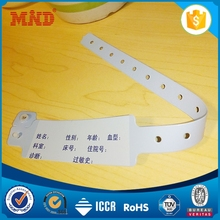 MDW1002 Mother baby wristband tag custom hospital wristbands ,hospital id wristbands,hospital patient id