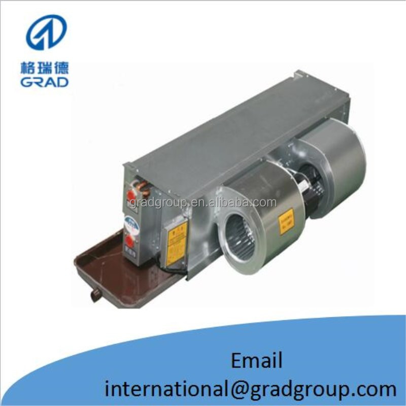 horizontal galvanized steel hydronic split fan coil unit price