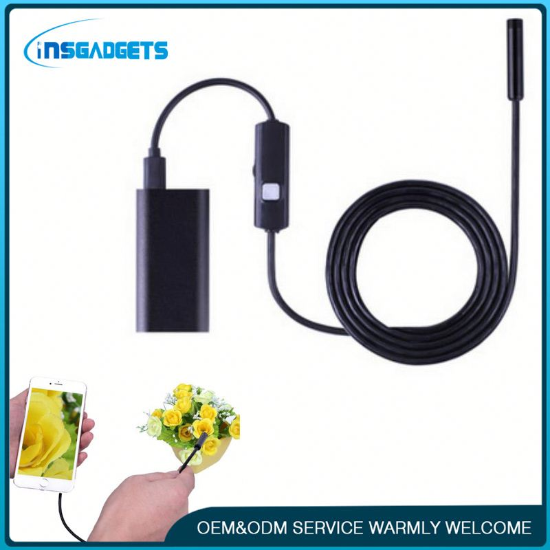Endoscope inspection video borescope wireless h0tS6 wifi endoscope inspection camera for car/pipe for sale