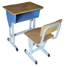 2015 Cheap Price for Adult Student Tables and Chairs , Red Frame Chairs and Tables of School Furniture