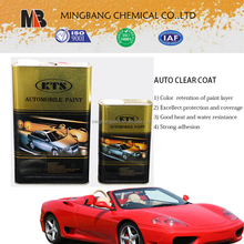 High gloss mirror car paint coating