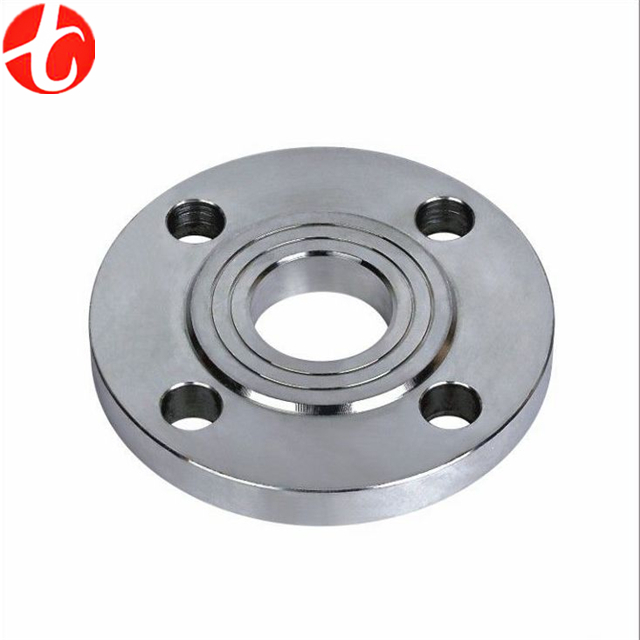 Large Tongue & Groove stainless steel flange