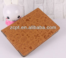 2013 HOT Selling Leather Tablet Case For ipad Mini