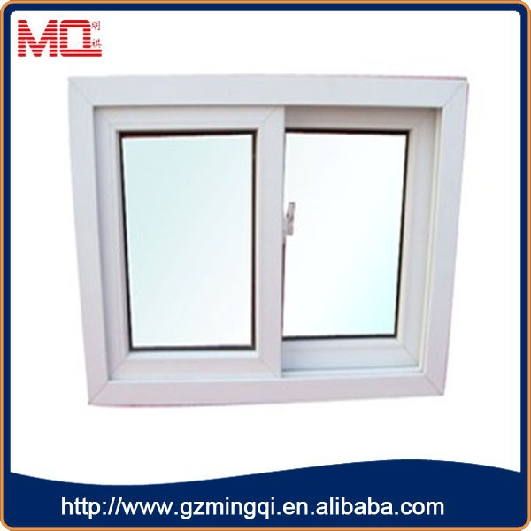 cheap price upvc used commercial windows/tempered glass sliding windows for house