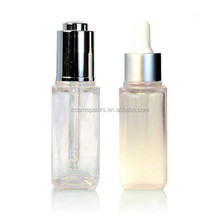 Empty plastic liquid PET spray bottle for cosmetic,oil,shampoo,body lotion with screw cap