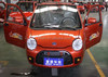 For India's four of China's manufacturing three wheels of small cars