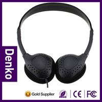 Economic price 3.5mm plug airline ear hook headset for air industry