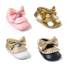 wholesale baby girls soft pu leather kids shoes children