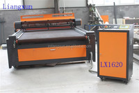 LX1620 automatic feeding laser cutting machine for Fabric/Cloths/Toys/Home Textile