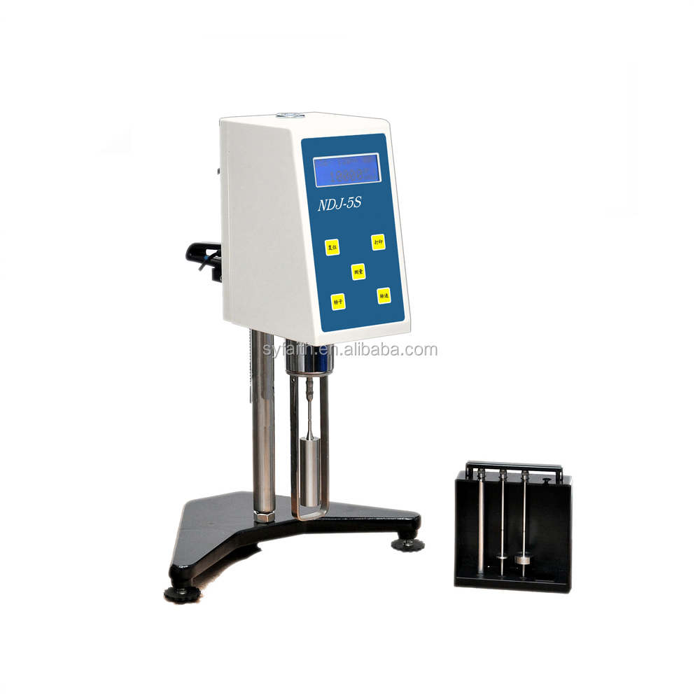 NDJ-5S digital Rotational Viscometer apparatus used to measure absolute viscosity <strong>measurement</strong>