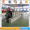 2016 hot sale curb and gutter machine/used roll forming machine/cold roll forming machine rain gutter machine