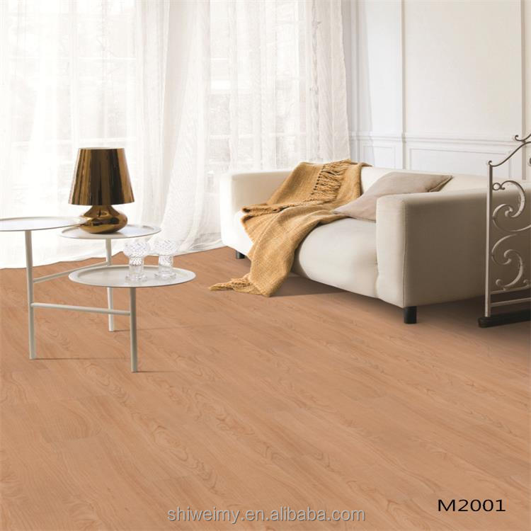 Indoor wood pattern pvc flooring for home