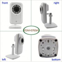 2013 New Arrival Mini WIFI cctv wireless ip camera for Home Security
