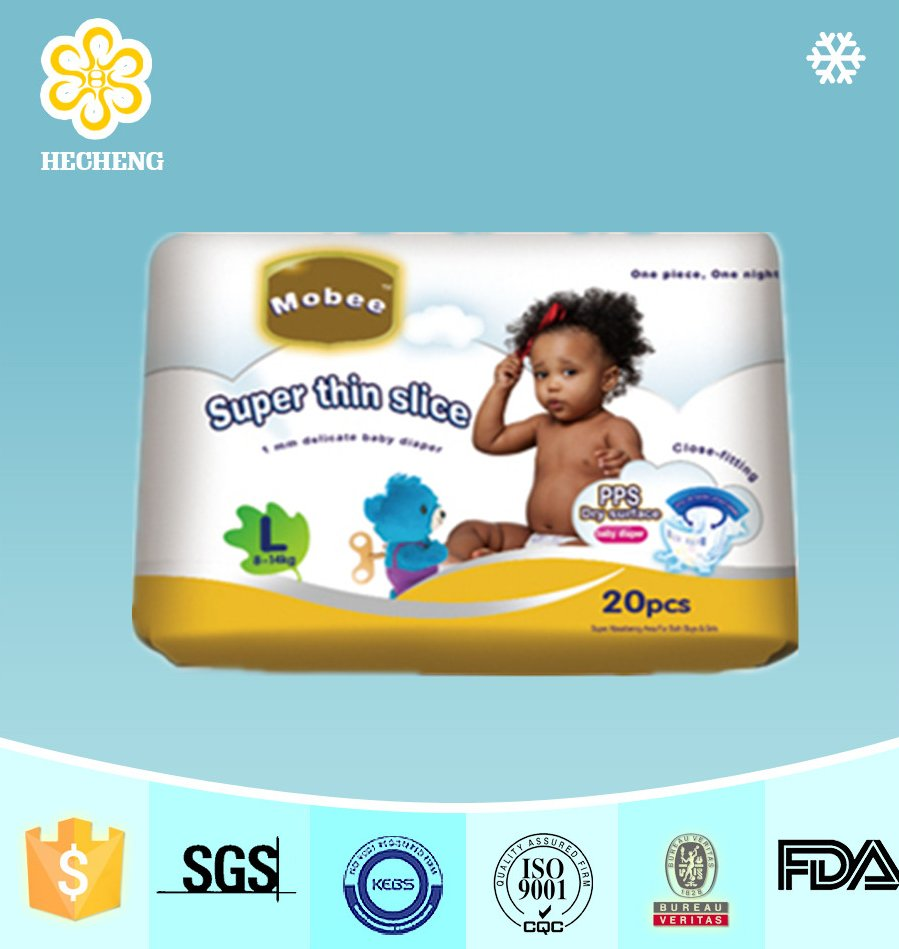 High Quality Disposable Baby Diapers For Africa Market