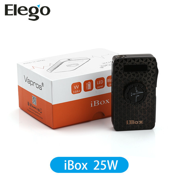 Vision iBOX 25W mechanical box mod electronic cigarette Elego wholesale in STOCK