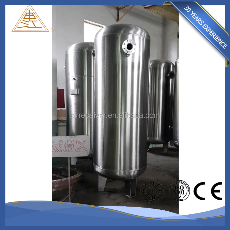 Special Design bulk cement truck stainless steel air compressor tank