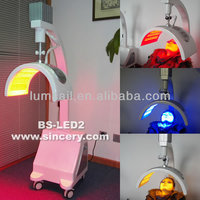 New popular wound healing machine blue light therapy/portable pdt led beauty machine led phototherapy