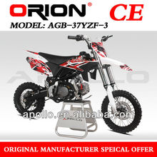 "China Apollo ORION CE 125CC PIT BIKE Mini Cross125CC DIRT BIKE 125CC RACING BIKE CROSS BIKE 125CC (AGB-37YZF3 17""/14"")"