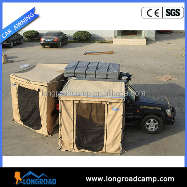 Windproof camping truck awning driver supplies