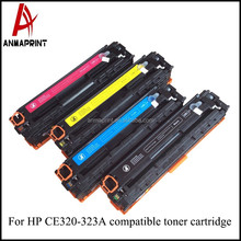 High Quality Factory Price Compatible color Toner Printer Cartridge CE321 Laser Printer Cartridge for HP Printers