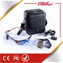Camshot Fashion Digital wifi portable video glasses google glasses with bluetooth and wireless camera -S62