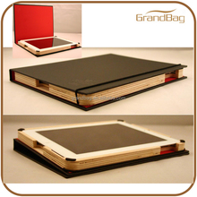 Top-quality genuine leather cover for ipad2 for ipad 3 Book Style for iPad 2 Case