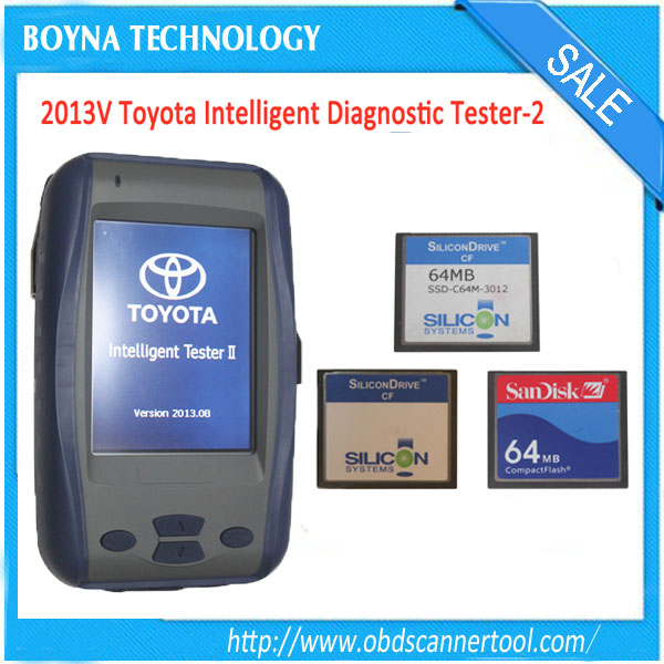 Toyota IT2 Toyota Denso Intelligent Tester 2 with Three cards for TOYOTA