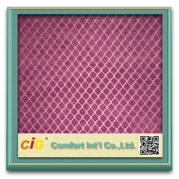 Print and Emboss classic print custom car seat fabric