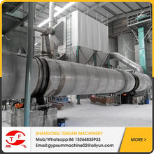PLC controlled Hot-selling Fully Automatic Gypsum/Plaster of Paris Powder Production Line