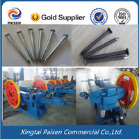 Formal factory auto steel/iron/copper nail making machine/automatic steel nail making line