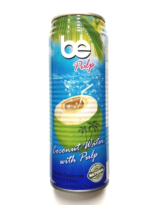 BE coconut water with pulp