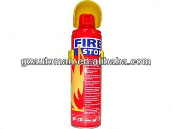 500ml fire extinguisher and fire hose reel cabinet