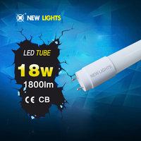China supplier school office milk white 1.2m tub8 led light tube