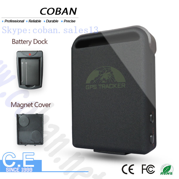 sim card gps tracking device GPS102B with geo fencing , real time tracking web platform