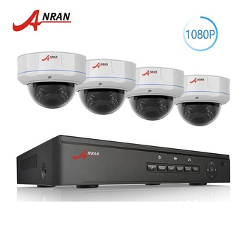 OEM Original 2mp h.265 wide angle ip poe camera 1080P 4ch nvr poe kit home cctv security camera