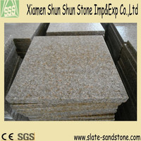 Yellow natural pebble stone paver with high quality
