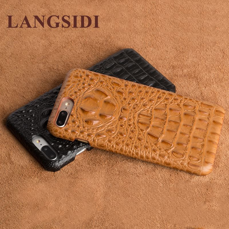 For Meizu meilan <strong>U10</strong> 5.0 Real Calf leather Back Cover Case/crocodile texture Leather Case