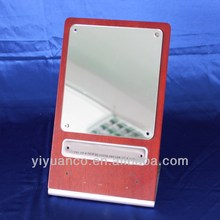 Hot sale custom acrylic mirror with laser logo