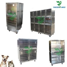 Customized medical vet clinic 201 or 304 stainless steel large dog kennel