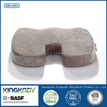 High quality soft seat polyurethane special shape memory foam cushion