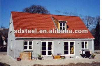 CE prefabricated steel villa
