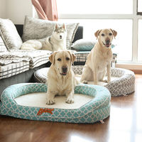 Pet manufacturer luxury memory foam dog bed