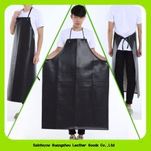 Alibaba Wholesale Water-Proof Bid Fake Leather Apron 16017
