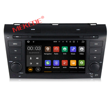 Android 7.1 system 1024*600 capacitive touch screen car dvd player for OLD MAZDA 3 2004-2009 support playing stereo music