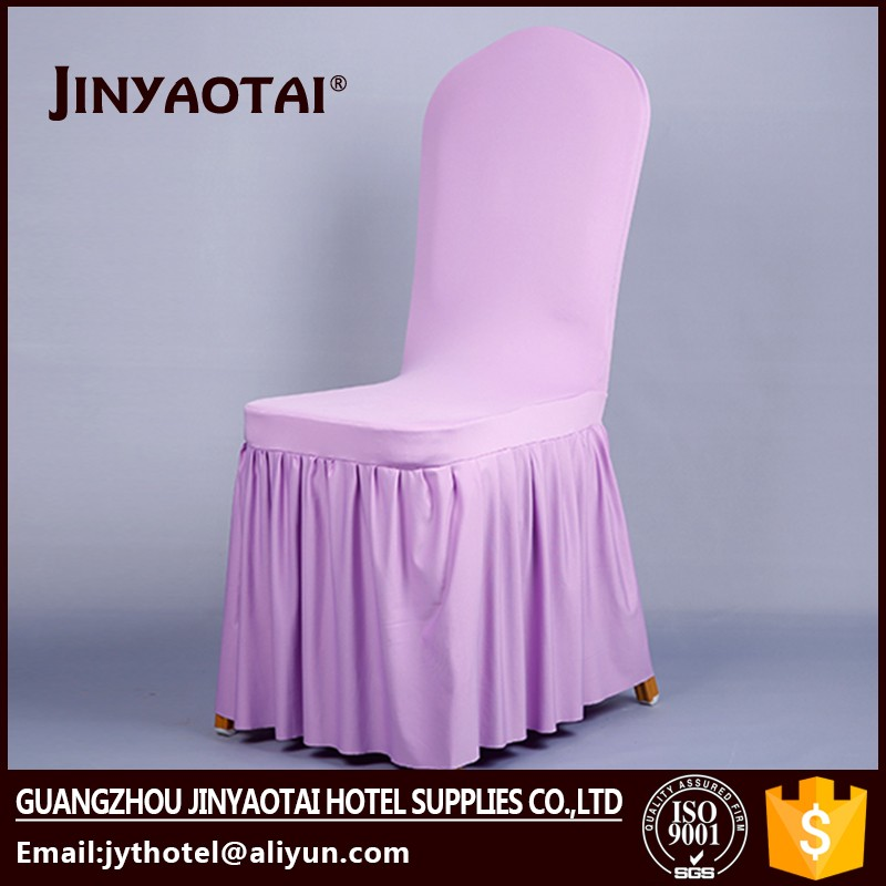 printed hot sale 100% polyester gold glitter spandex banquet chair cover