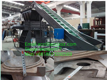 Aluminum alloy High efficient Scarp metal shredder/metal crusher with CE certification